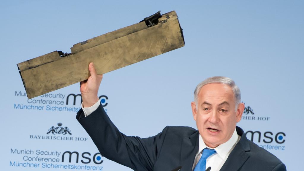Netanyahu-drone-pezzo