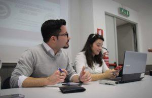 In foto: Giampaolo Frezza ed Elisa Sciarra, i creatori di Altlas